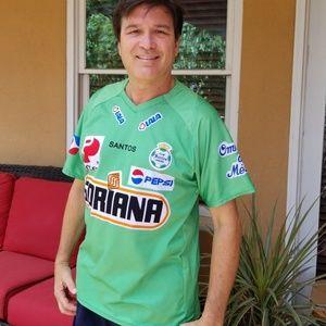 Men's Club Santos Laguna Futbol (Soccer) Jersey
